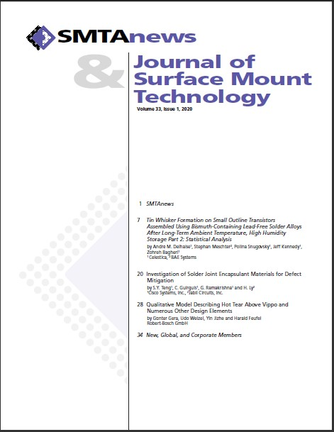 Journal of SMT vol 33 issue 1 cover